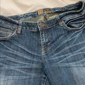 Kut from the Kloth Capri jeans size 8 cuffed